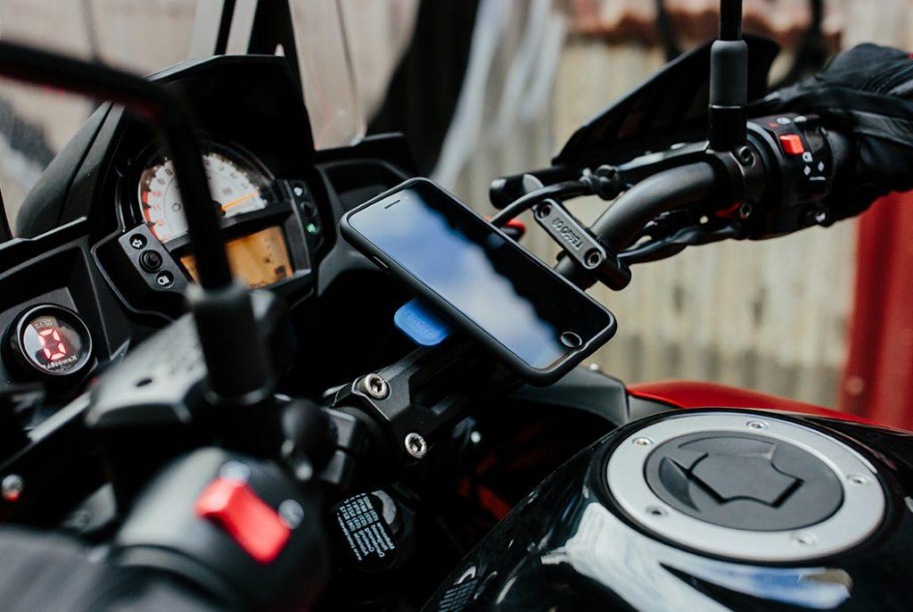 support telephone moto quadlock