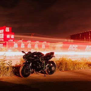 kawasaki ninja noir nuit